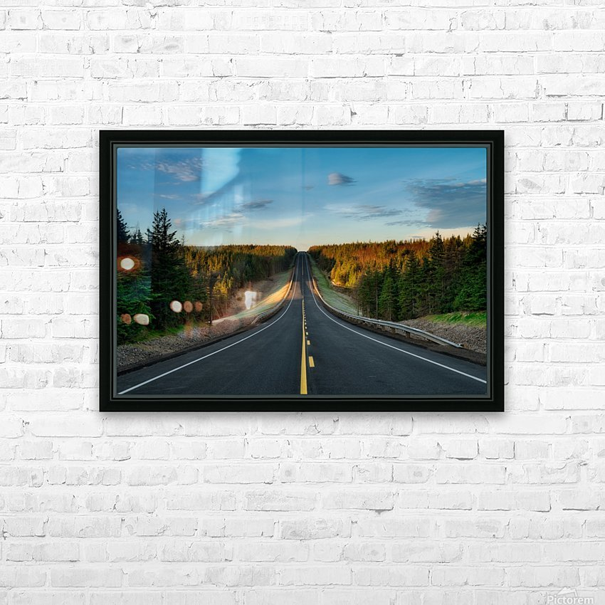 Passing Through HD Sublimation Metal print with Decorating Float Frame (BOX)