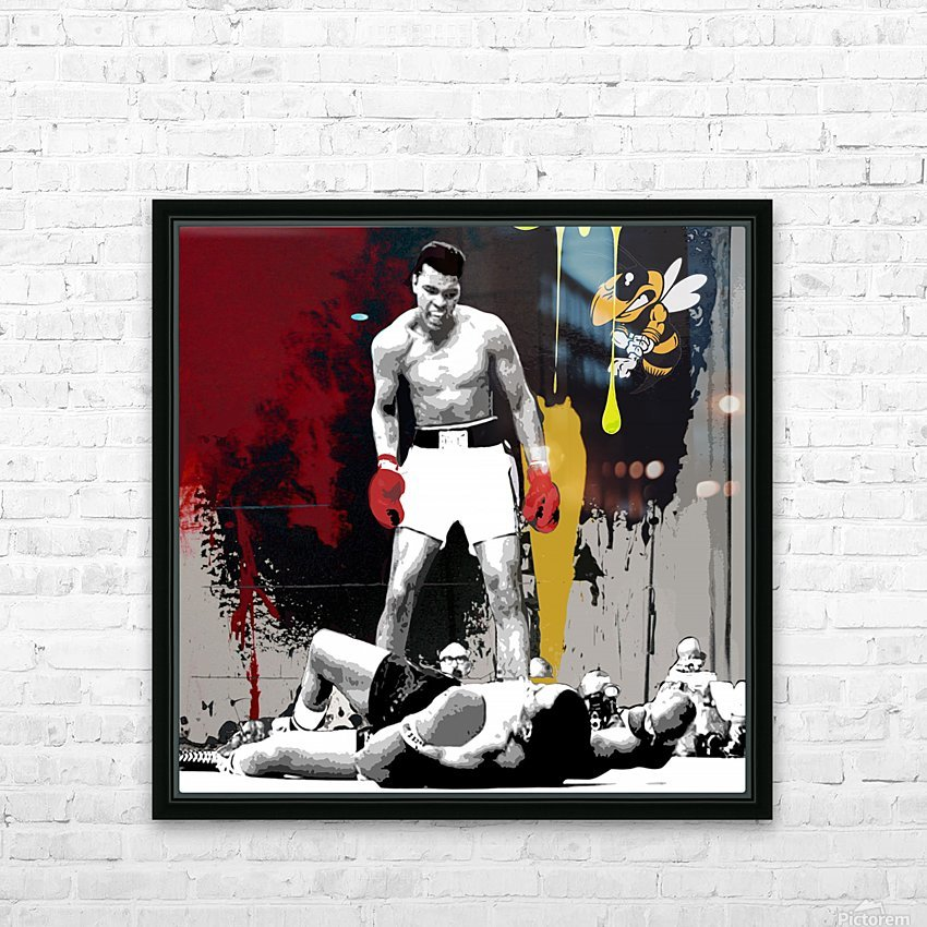 Ali HD Sublimation Metal print with Decorating Float Frame (BOX)