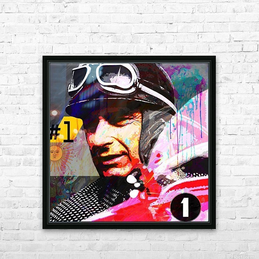 Fangio HD Sublimation Metal print with Decorating Float Frame (BOX)