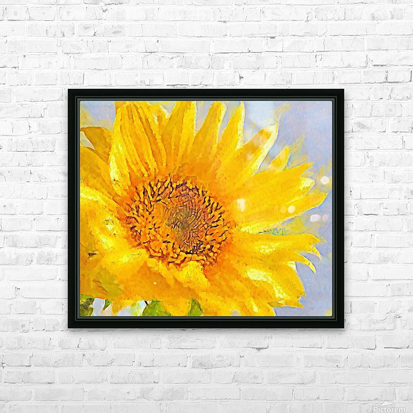 Love You HD Sublimation Metal print with Decorating Float Frame (BOX)