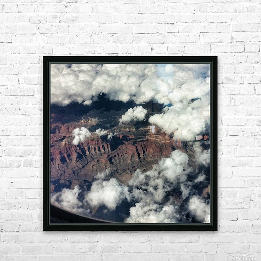 Arizona Canyons HD Sublimation Metal print with Decorating Float Frame (BOX)