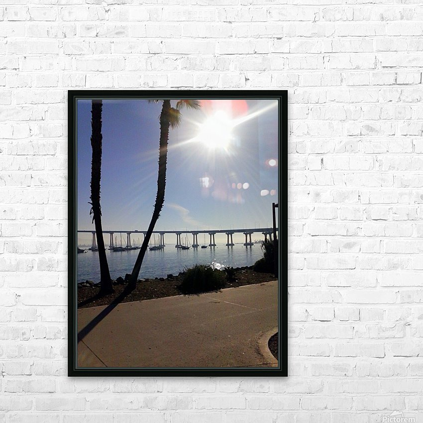 Coronado Island, San Diego, Ca HD Sublimation Metal print with Decorating Float Frame (BOX)