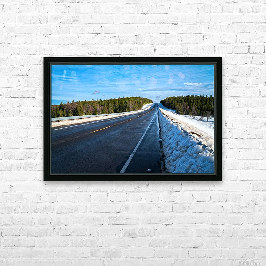 Along the Way HD Sublimation Metal print with Decorating Float Frame (BOX)