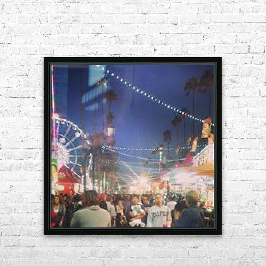 Pomona Fair, California HD Sublimation Metal print with Decorating Float Frame (BOX)
