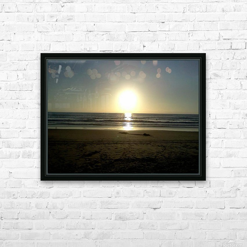 Oceanside, California HD Sublimation Metal print with Decorating Float Frame (BOX)