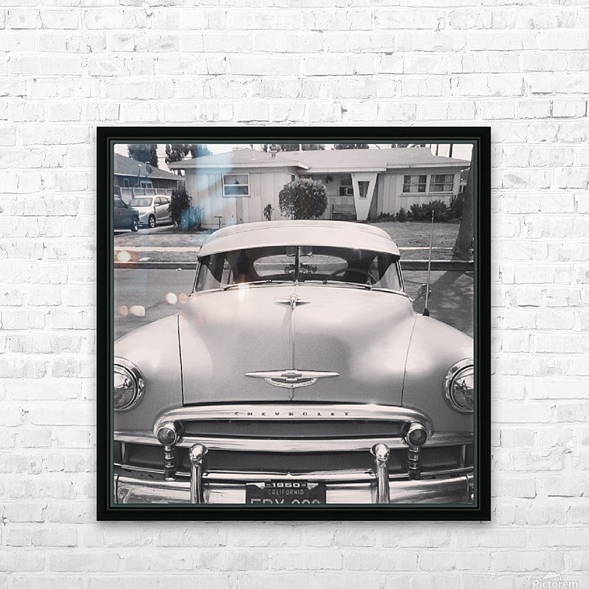 1950 Chevy  HD Sublimation Metal print with Decorating Float Frame (BOX)