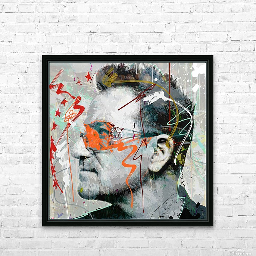 Bono HD Sublimation Metal print with Decorating Float Frame (BOX)