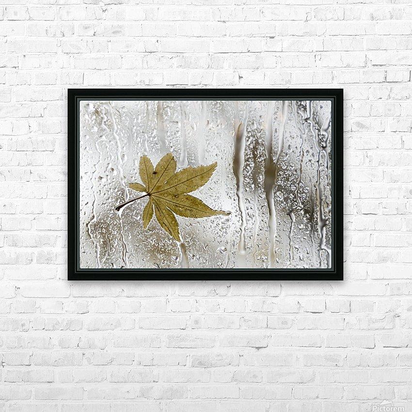 Melancolie HD Sublimation Metal print with Decorating Float Frame (BOX)
