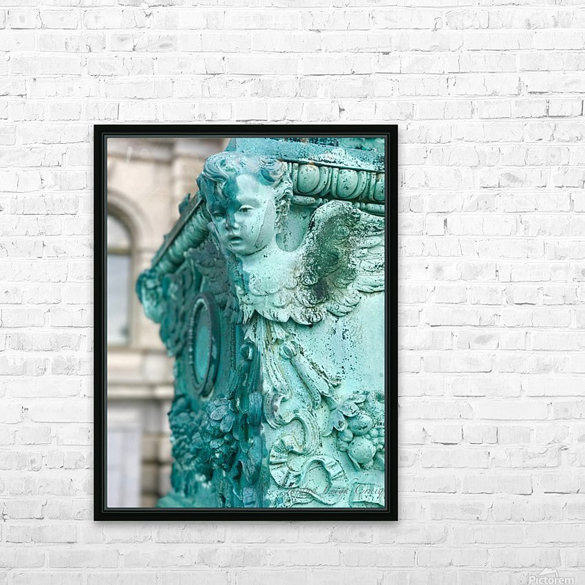 Capital Statues HD Sublimation Metal print with Decorating Float Frame (BOX)