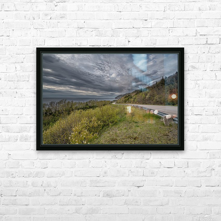 Springtime on the Cabot Trail HD Sublimation Metal print with Decorating Float Frame (BOX)