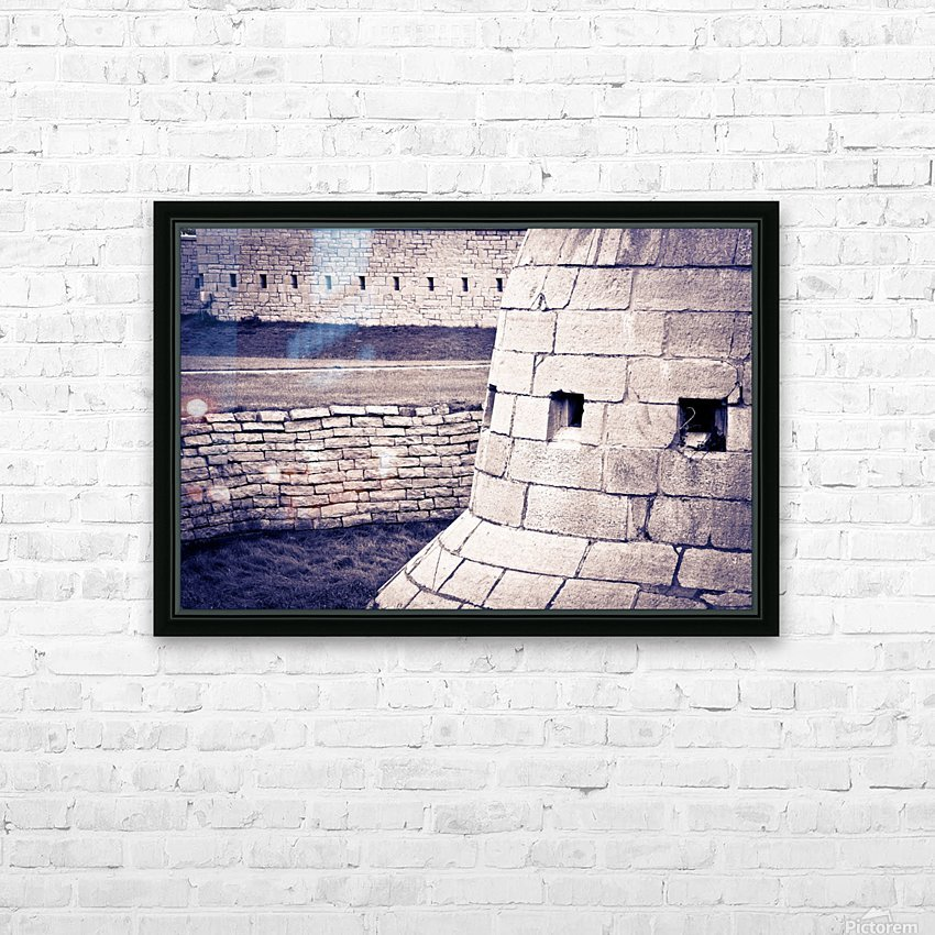 Fort Frederick At Rmc HD Sublimation Metal print with Decorating Float Frame (BOX)