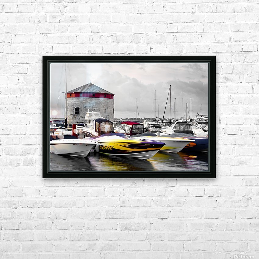 Poker Run At The Shoal Tower HD Sublimation Metal print with Decorating Float Frame (BOX)
