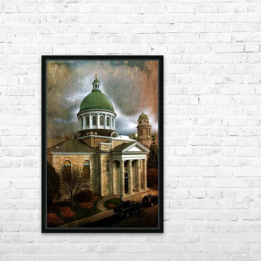 St Georges Cathedral HD Sublimation Metal print with Decorating Float Frame (BOX)