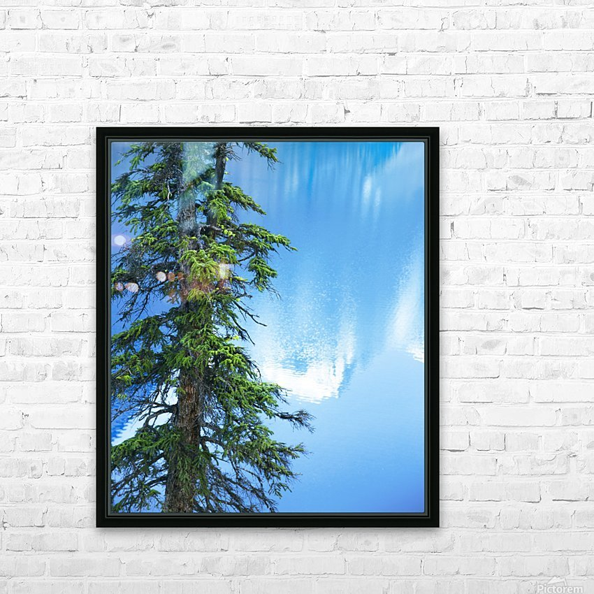 Natural order HD Sublimation Metal print with Decorating Float Frame (BOX)