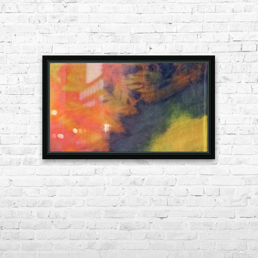 SPLASH DOT HD Sublimation Metal print with Decorating Float Frame (BOX)