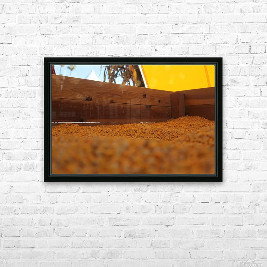 Dried Corn 02 HD Sublimation Metal print with Decorating Float Frame (BOX)
