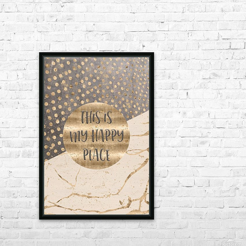 GRAPHIC ART This is my happy place HD Sublimation Metal print with Decorating Float Frame (BOX)