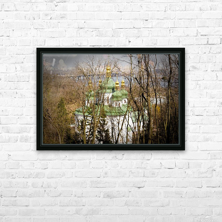 Eastern Orthodox Church in Kiev HD Sublimation Metal print with Decorating Float Frame (BOX)