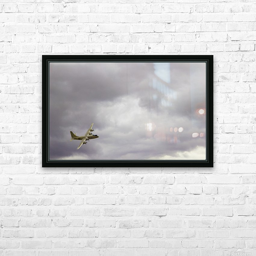 Flyingwarbird HD Sublimation Metal print with Decorating Float Frame (BOX)