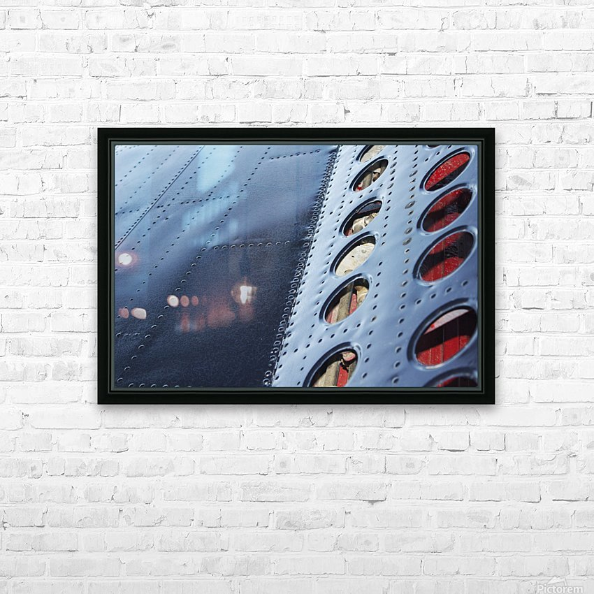 Flap HD Sublimation Metal print with Decorating Float Frame (BOX)