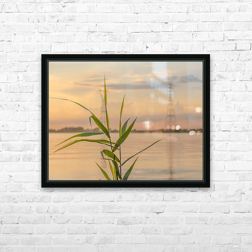 The force of nature  -  Force de la nature HD Sublimation Metal print with Decorating Float Frame (BOX)