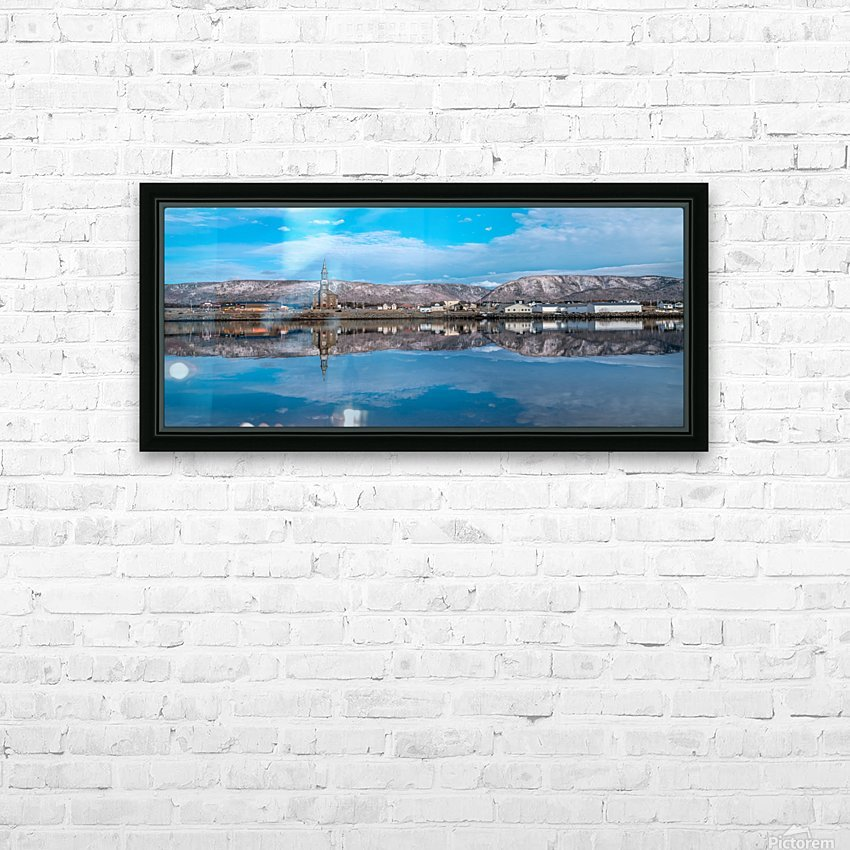 Cheticamp Skies HD Sublimation Metal print with Decorating Float Frame (BOX)