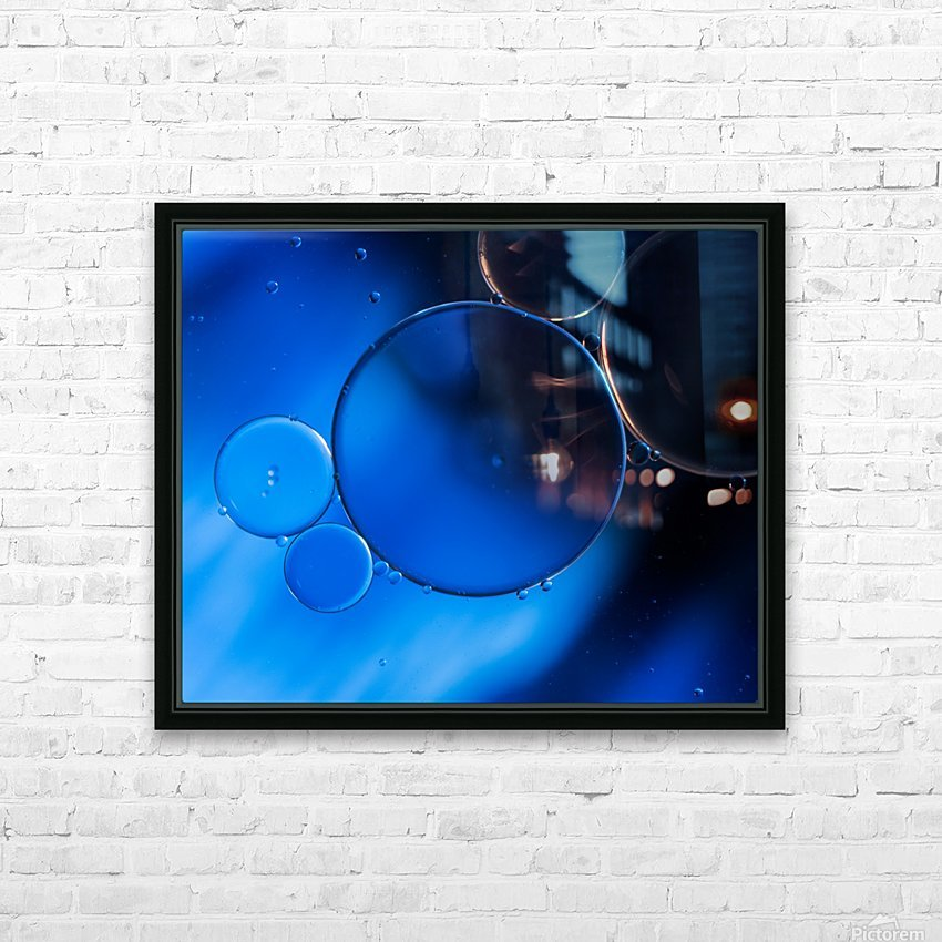 In Vitro HD Sublimation Metal print with Decorating Float Frame (BOX)