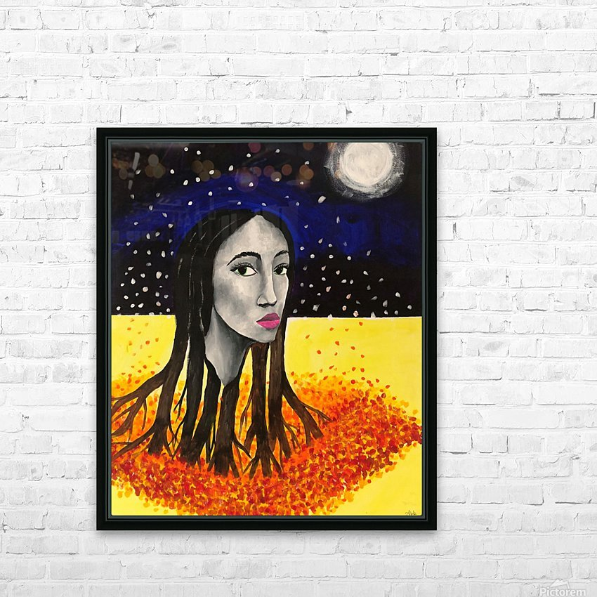 The Fall Before Night  HD Sublimation Metal print with Decorating Float Frame (BOX)