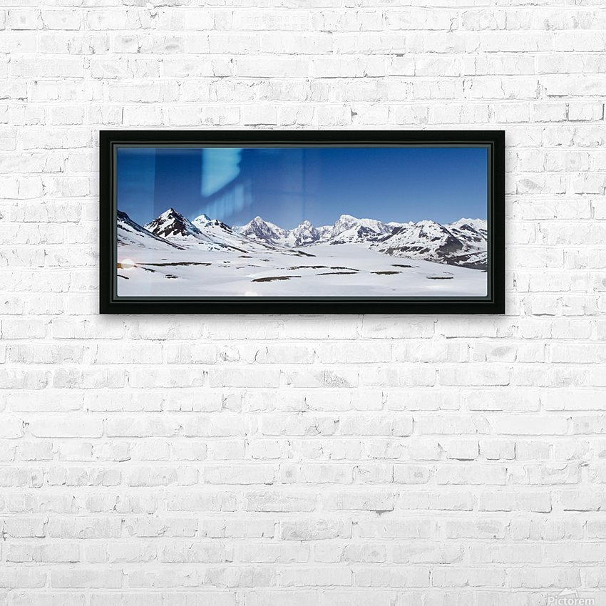 Mountain Range in South Georgia HD Sublimation Metal print with Decorating Float Frame (BOX)