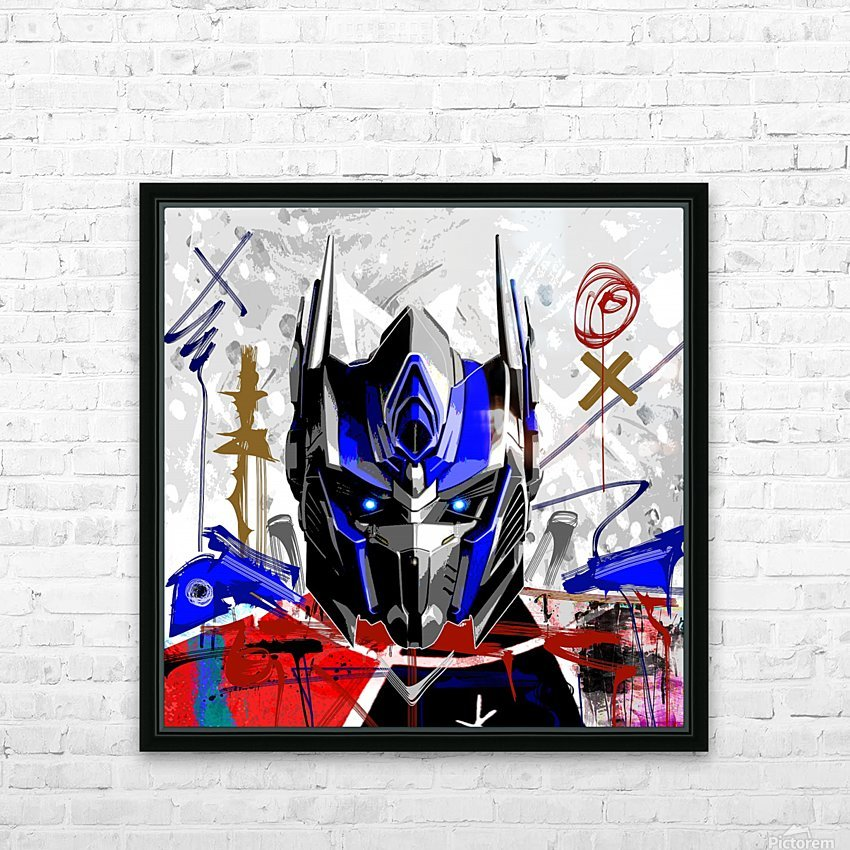 Prime X HD Sublimation Metal print with Decorating Float Frame (BOX)