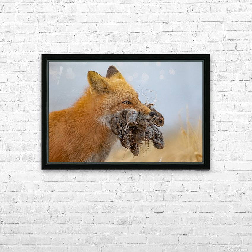 Supper on the Way HD Sublimation Metal print with Decorating Float Frame (BOX)
