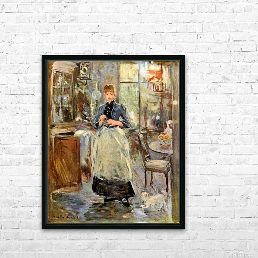 In the Dining Room HD Sublimation Metal print with Decorating Float Frame (BOX)