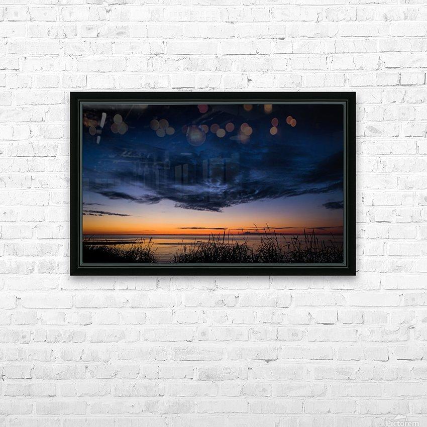 Blue Cloud - Nuage Bleu HD Sublimation Metal print with Decorating Float Frame (BOX)