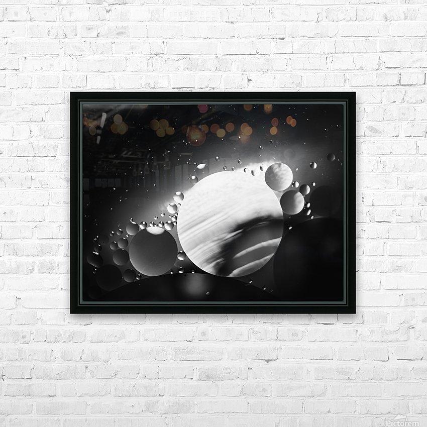 Micro Galaxy - Micro Galaxie HD sublimation métal imprimé avec décoration flotteur cadre (boîte)
