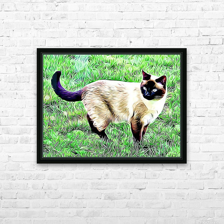 CAT3 HD Sublimation Metal print with Decorating Float Frame (BOX)