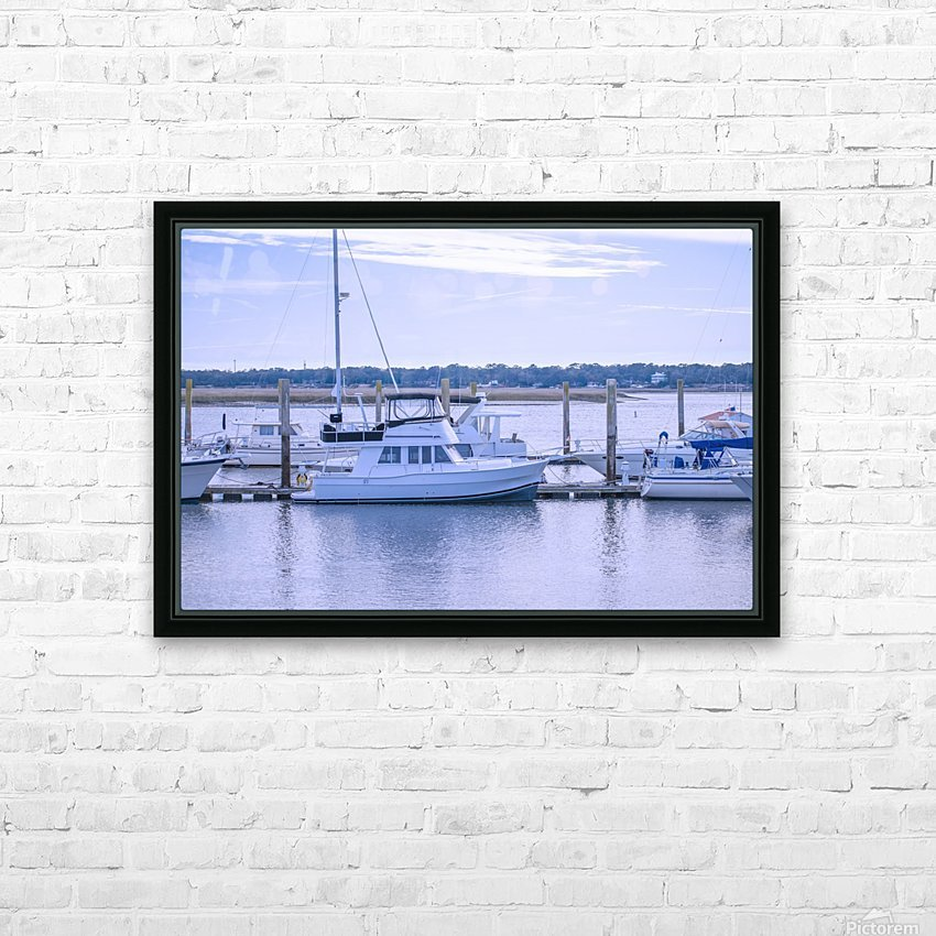 At Harris C Chember HD Sublimation Metal print with Decorating Float Frame (BOX)