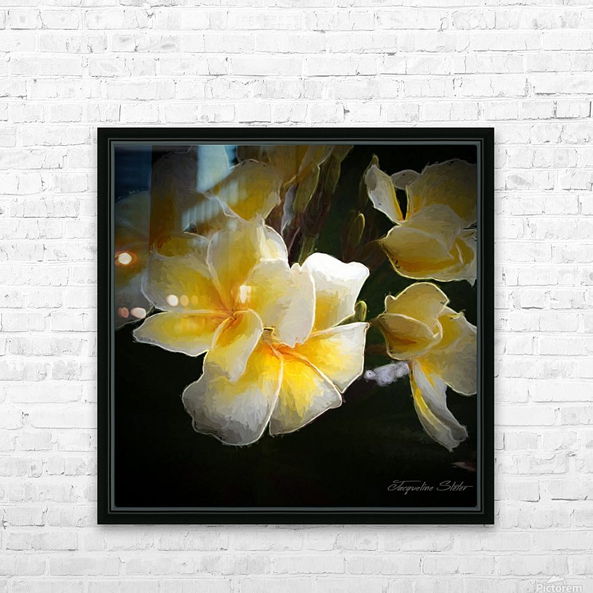 A Symbol of Grace HD Sublimation Metal print with Decorating Float Frame (BOX)
