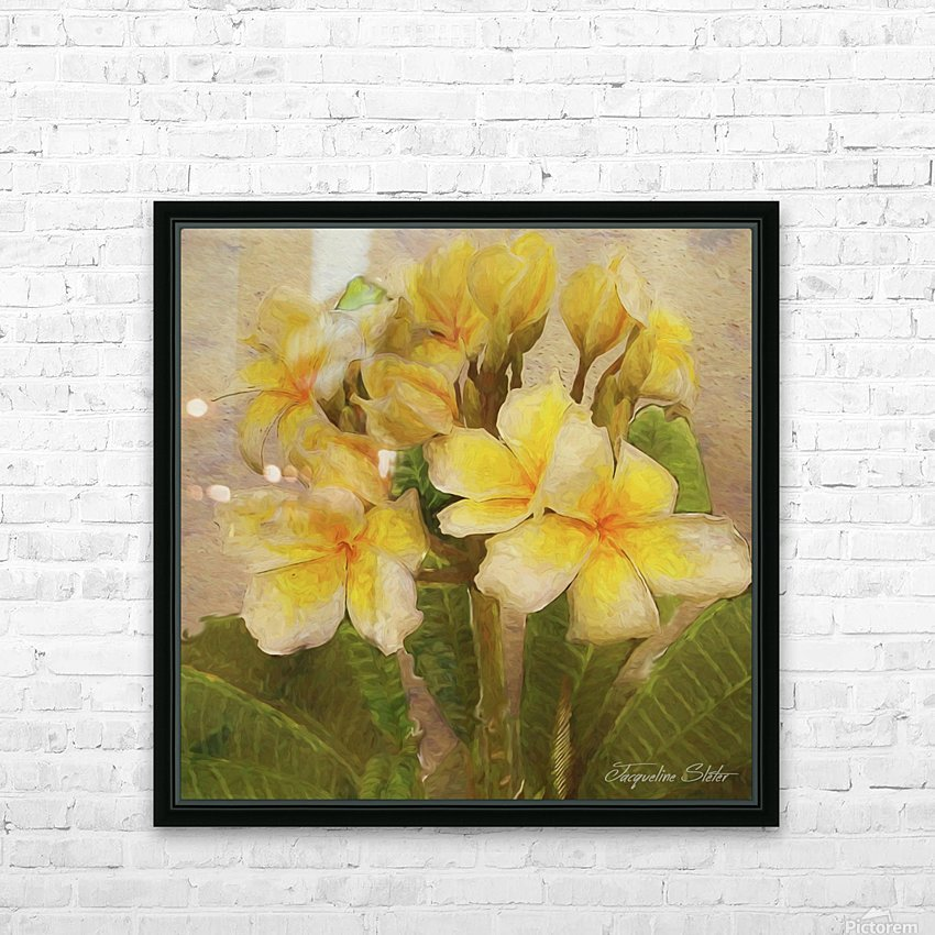 Floridian Bouquet HD Sublimation Metal print with Decorating Float Frame (BOX)