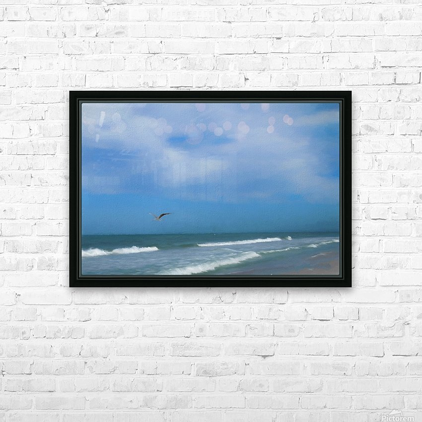 Flying Solo HD Sublimation Metal print with Decorating Float Frame (BOX)