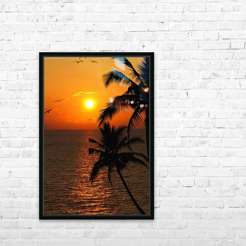 Unknown Paradise HD Sublimation Metal print with Decorating Float Frame (BOX)