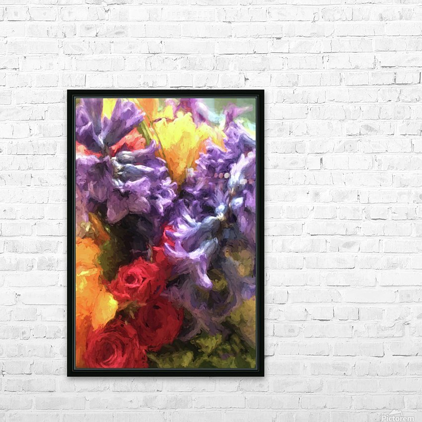 Living Color HD Sublimation Metal print with Decorating Float Frame (BOX)