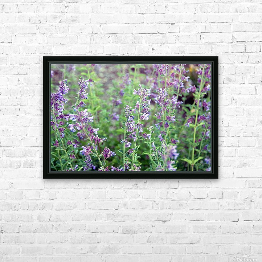 Wildflowers HD Sublimation Metal print with Decorating Float Frame (BOX)