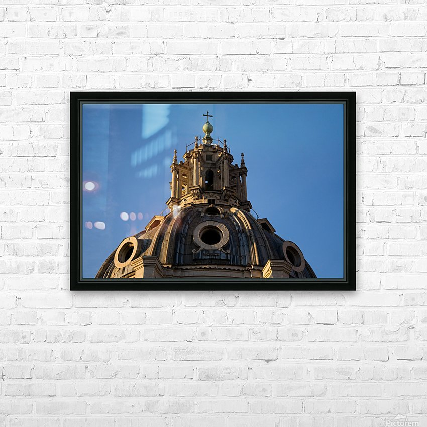 Italy with love HD Sublimation Metal print with Decorating Float Frame (BOX)