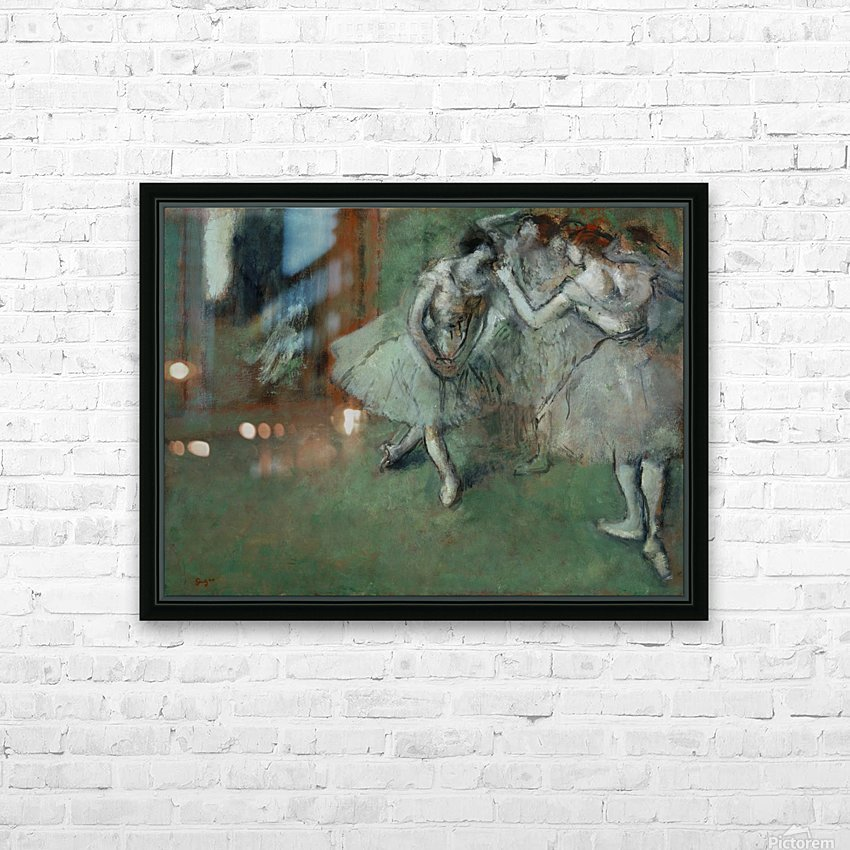 A Group of Dancers HD Sublimation Metal print with Decorating Float Frame (BOX)
