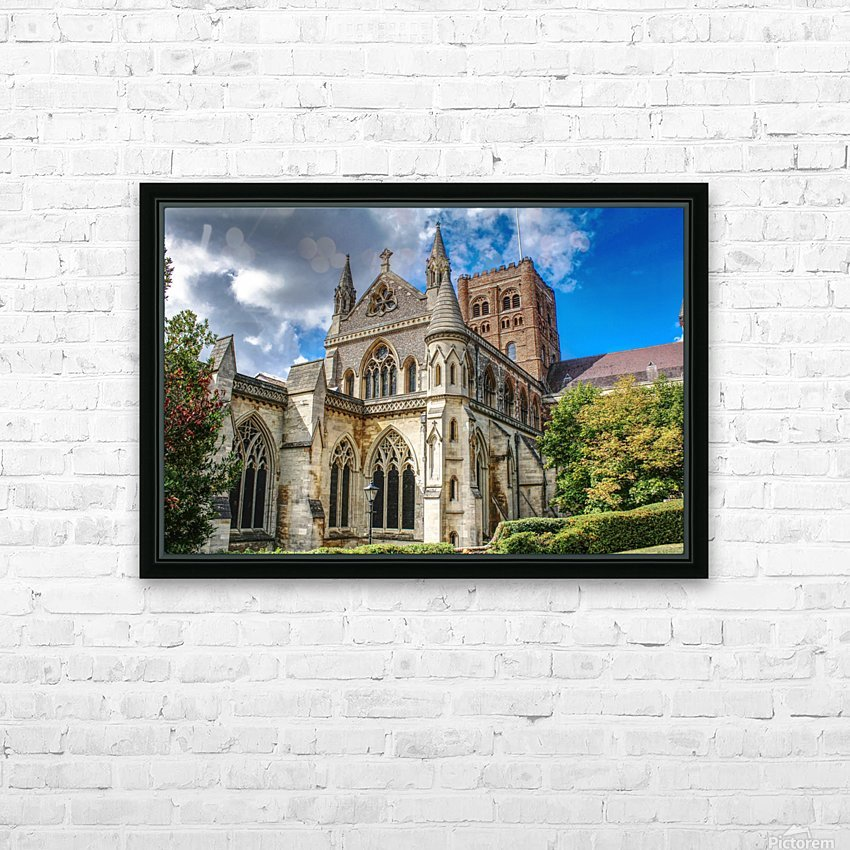 The Cathedral - England Landmarks HD Sublimation Metal print with Decorating Float Frame (BOX)