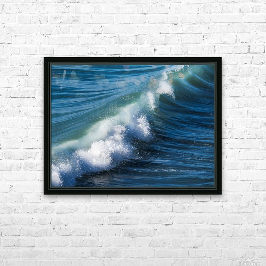 Wave of Changes - Vague de Changements HD Sublimation Metal print with Decorating Float Frame (BOX)