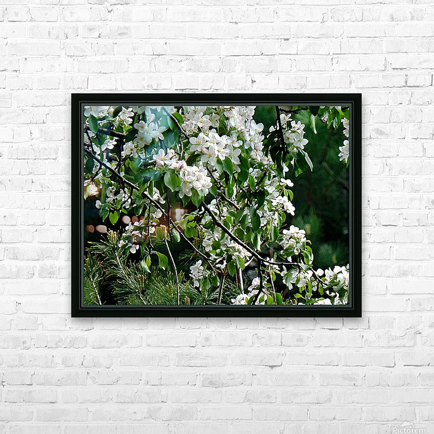 DazzleBlossoms HD Sublimation Metal print with Decorating Float Frame (BOX)