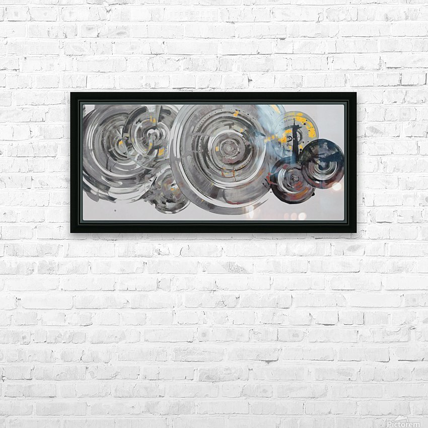 Helical HD Sublimation Metal print with Decorating Float Frame (BOX)