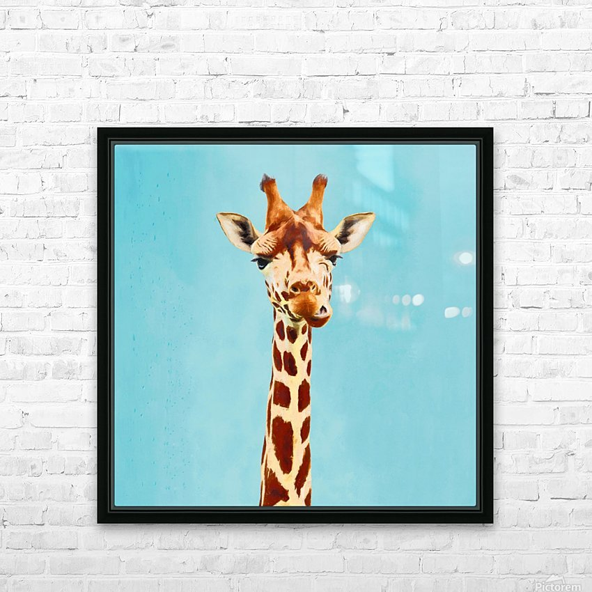 Giraff HD Sublimation Metal print with Decorating Float Frame (BOX)