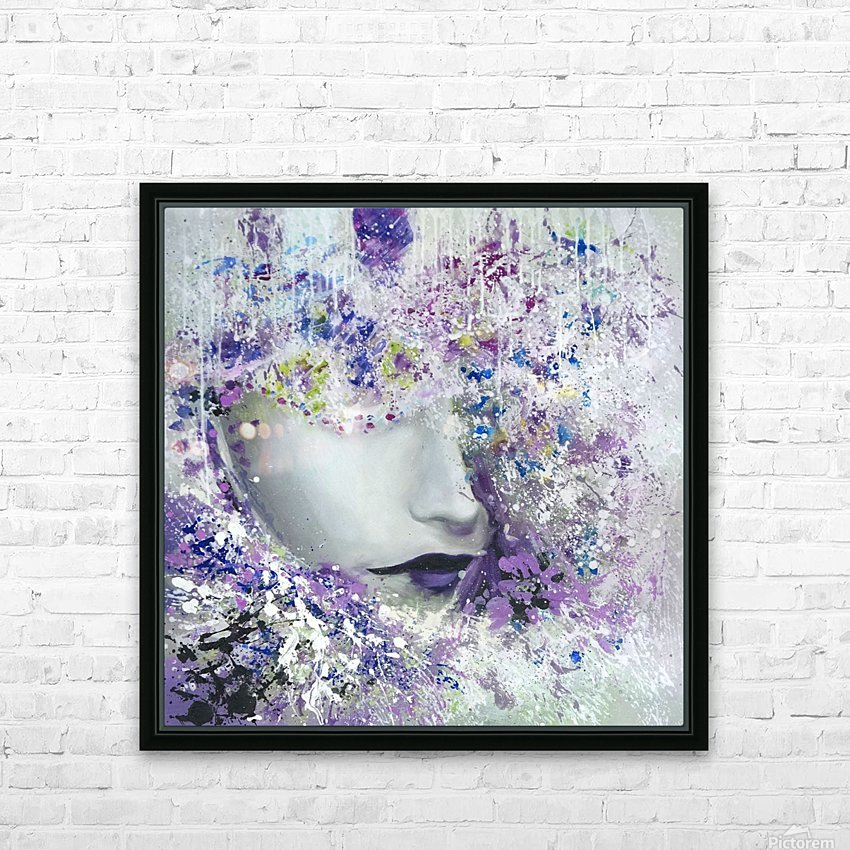 femme HD Sublimation Metal print with Decorating Float Frame (BOX)